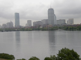 The Charles River from Next House lounge, Fourth Floor