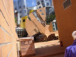 Stata Center - Reflecting Building